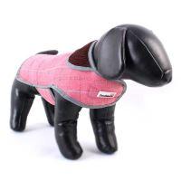 Doodlebone kabát, Tweedie, růžový, velikost S