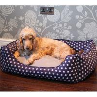 PET REBELLION Pelíšek pro psa Dog Bed, modrý 70x55x25cm