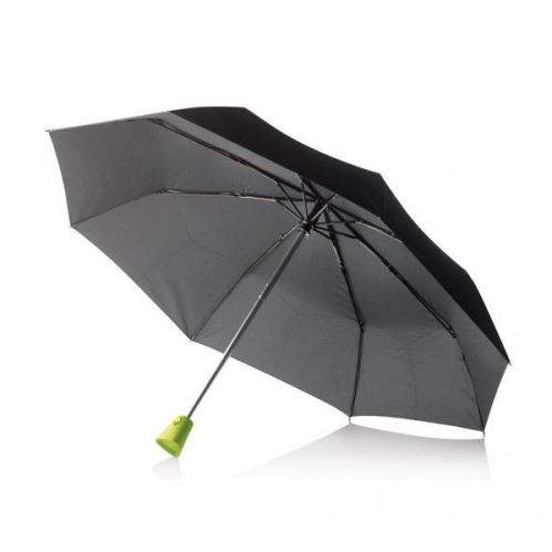 Automatický skládací deštník Brolly, XD Design, zelená rukojeť